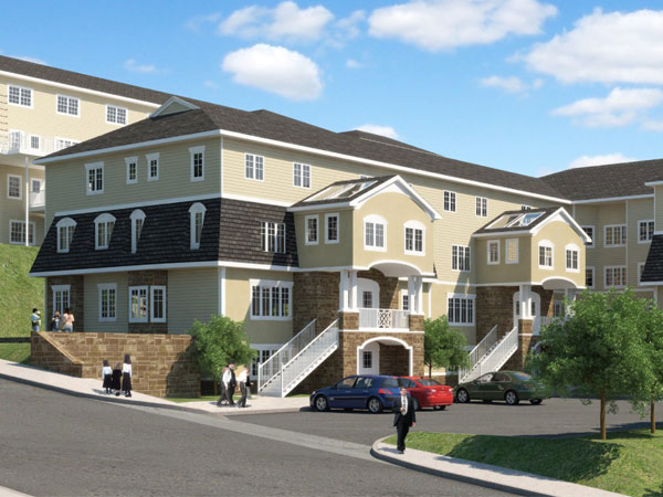 Bathroom all in one units - Gardens Affordable Housing Units In The Village Of Kiryas Joel